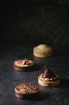 Разнообразие сладких тарталеток