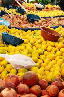 トルコの農民市場