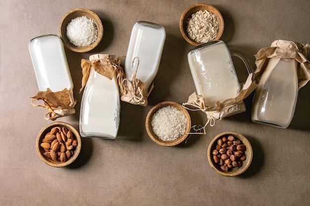 乳製品以外のさまざまな牛乳