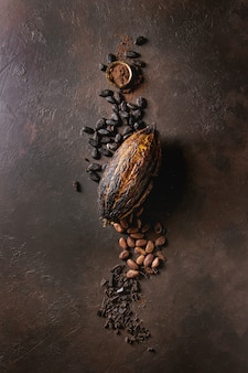 Разнообразие какао-бобов