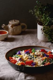 野菜とクスクス