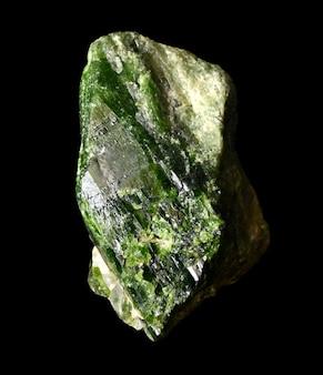 Сырой зеленый змеиный минерал