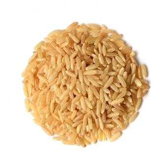 Коричневый рис сырой