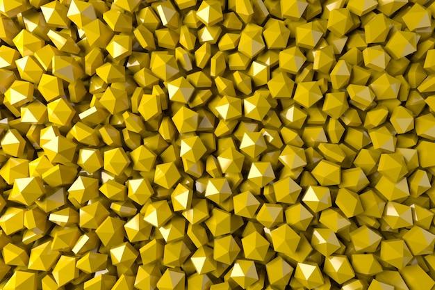 Желтый абстрактный