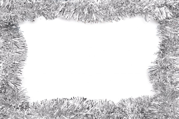 白地に灰色の見掛け倒しからフレーム。白で隔離されます。テンプレート