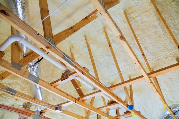 屋根裏の改修と断熱