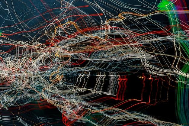 光線の抽象的な背景