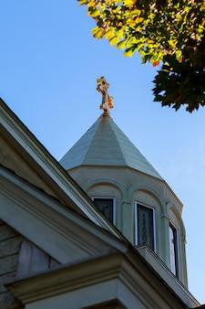 使徒アルメニア教会の十字架の空