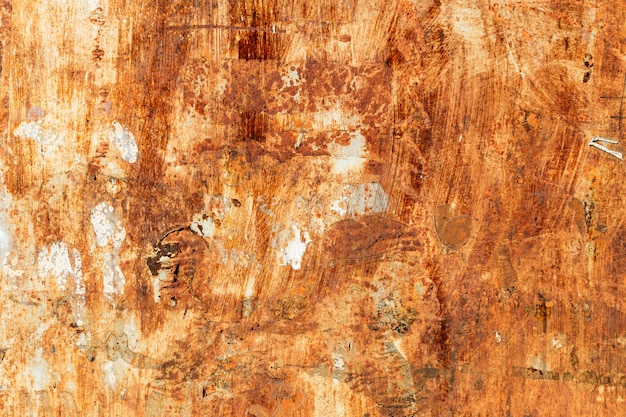 古い鉄、テクスチャ背景の表面に錆