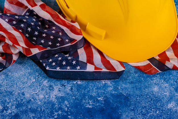 労働者の日は、米国アメリカの連邦政府の祝日ですトップビュー