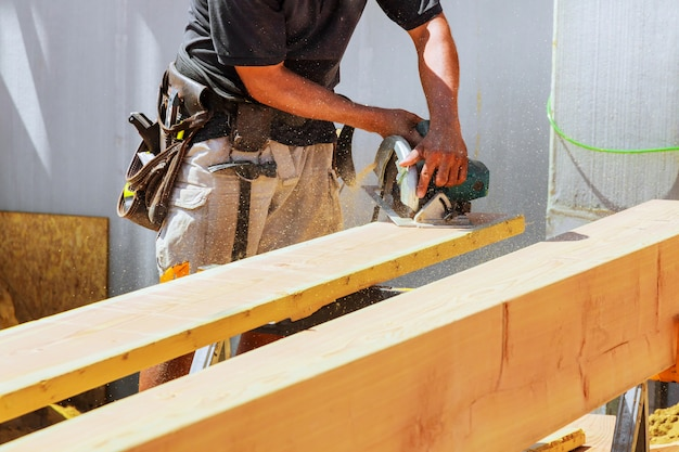 丸鋸切断木材の詳細