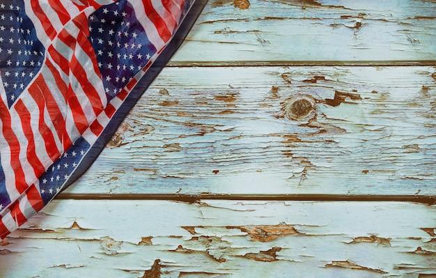 記念日のための米国労働者の日アメリカの愛国心が強いアメリカの国旗