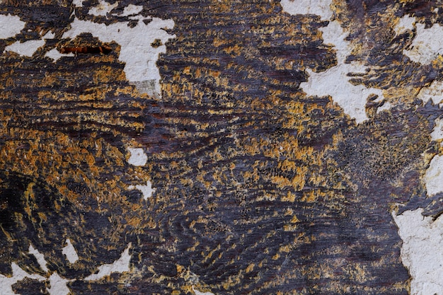 Античный деревенский деревянный с рельефным тиснением