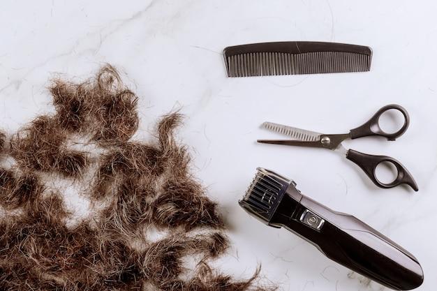 電気バリカン、プロの通常の美容院はさみの櫛の髪