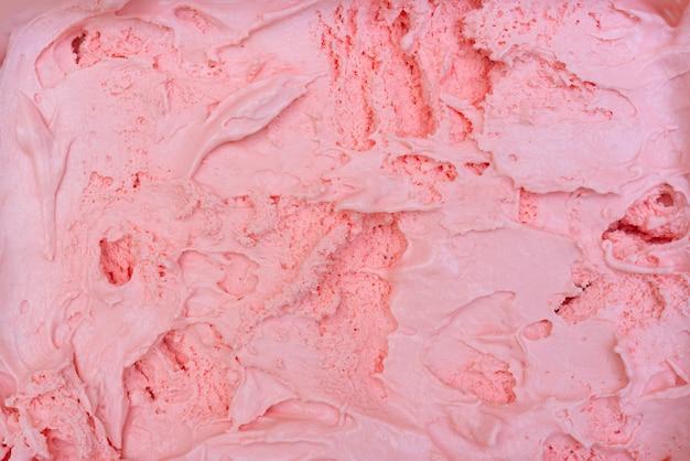 ストロベリーアイスクリームのテクスチャです。