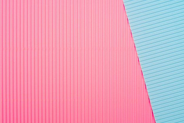 Цветной фон из гофрированной бумаги. мягкий фокус. копировать пространство