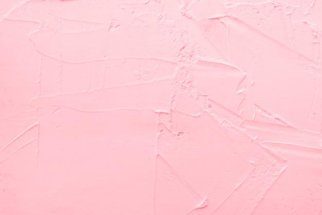 ストロベリーアイスクリームのテクスチャ背景