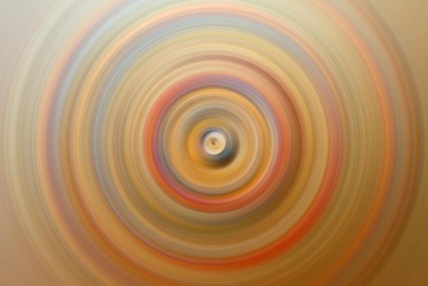 スピンサークル放射状モーションブラーの抽象的な背景。
