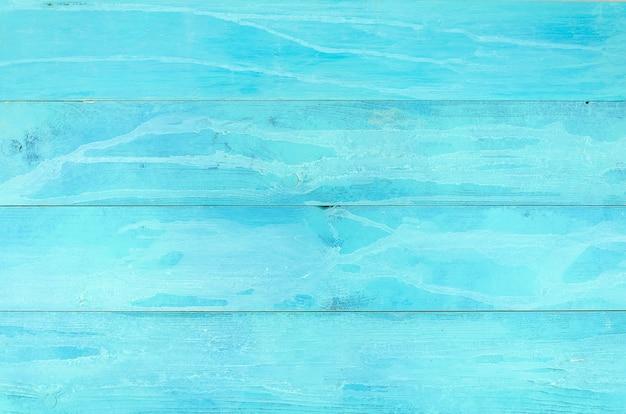 水色の古い木製の背景