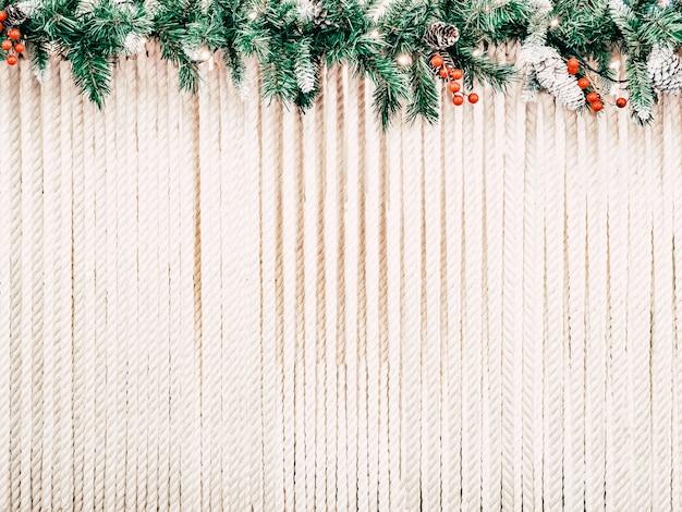 テキストのクリスマス背景