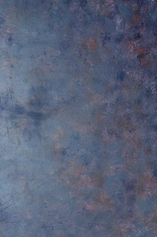 ぼろぼろの古いネイビーブルーの金属の背景のテクスチャです。