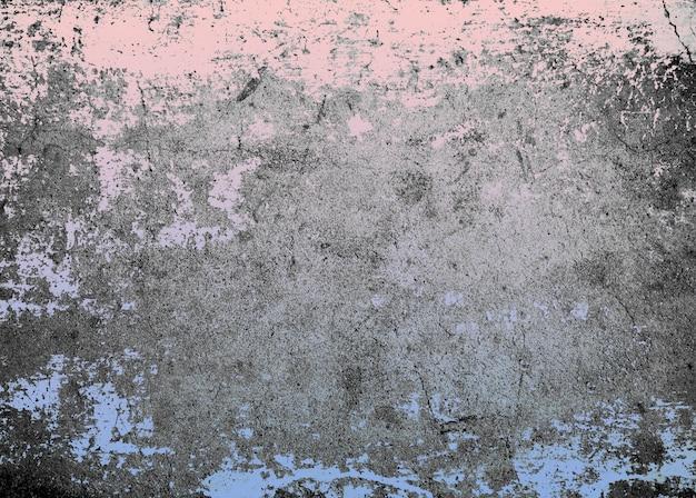 Розовый кварц и спокойствие цвета на фоне текстуры цемента гранж