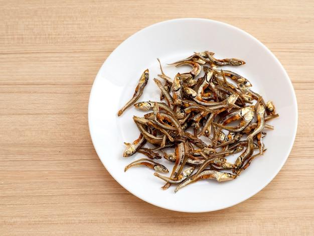 日本の健康食品入子魚。