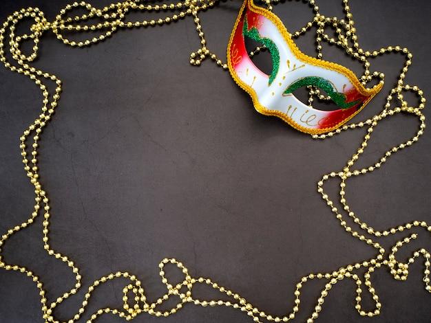 お祝いマルディグラベネチアンカーニバル