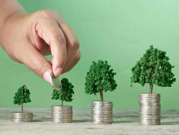 お金を節約するビジネスコンセプト