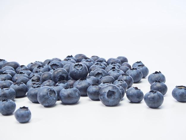 新鮮なブルーベリー、健康食品のコンセプト