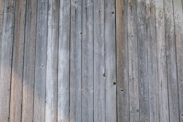 古い光の素朴な木製の壁の質感