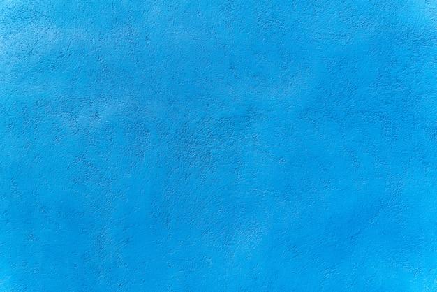 テクスチャデザインの青い色セメント壁の背景