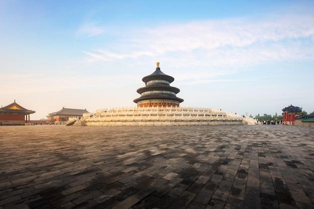 素晴らしくて素晴らしい北京の寺院