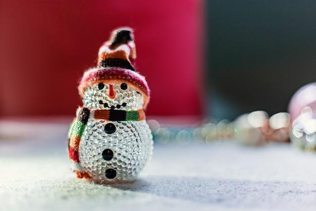 新年とクリスマスのコンセプトの静物写真