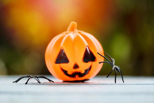 Хэллоуин паук и фонарь тыквы украшения для вечеринки