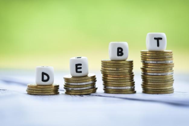 免除債務の整理による負債の増加