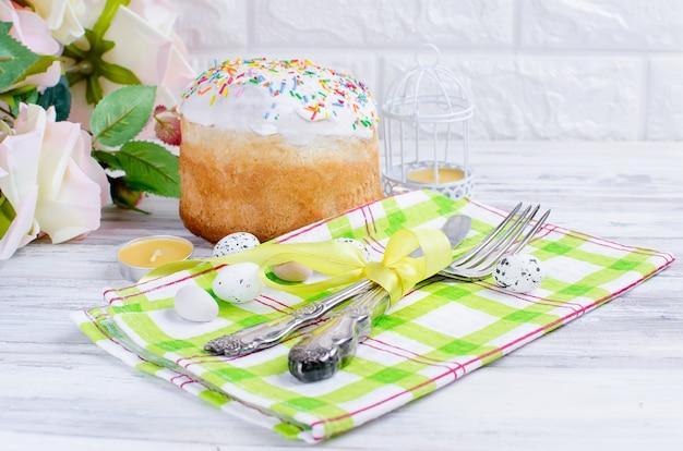 イースターケーキとイースターの場所の設定