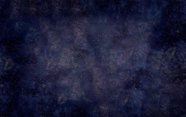 暗い青いコンクリート石グランジテクスチャ表面の背景