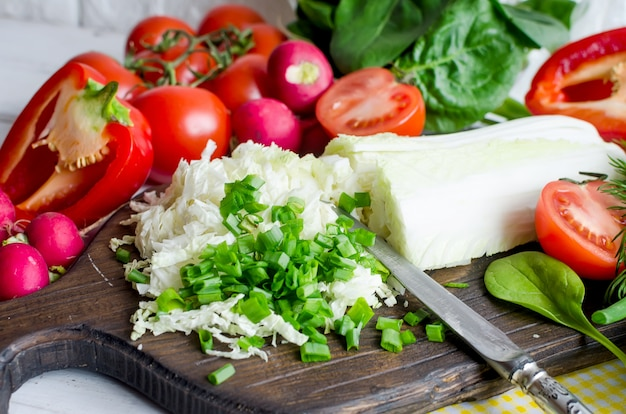 Набор овощей для салата