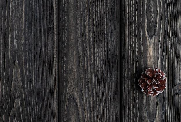 素朴な木製の背景。グレー色のボードテキスト用のスペース