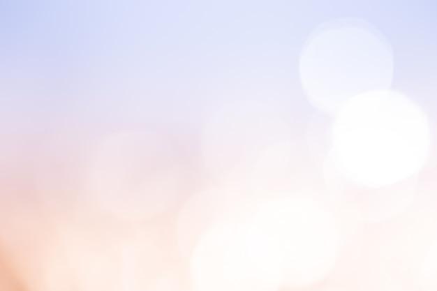 ライトピーチブルーのボケ味。抽象的な背景