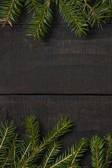 暗い素朴な木製の背景