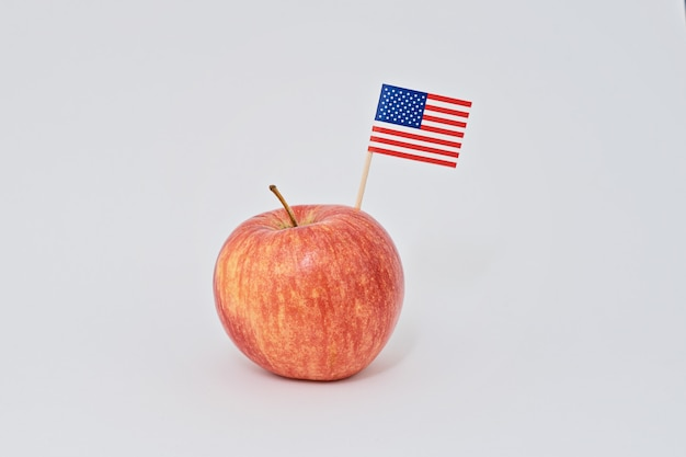 Поздравительная открытка на празднование дня президента в америке