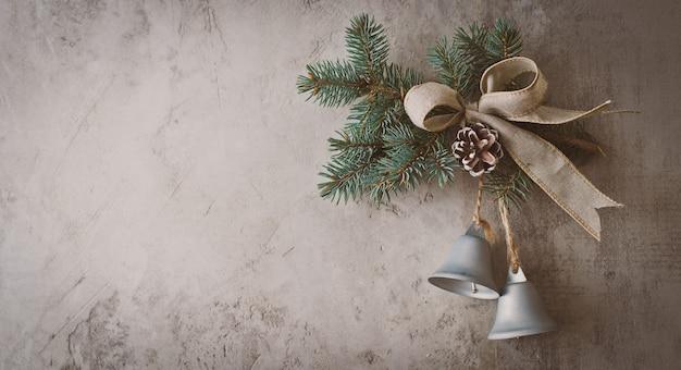 クリスマス休暇のためのグリーティングカード