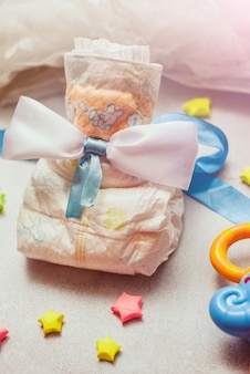 新生児のための抽象的な構成