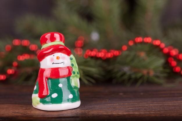 クリスマスのおもちゃ、クリスマスの飾り。