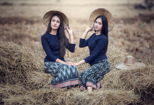 タイの地元女性