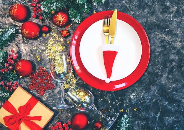 クリスマステーブルセッティング
