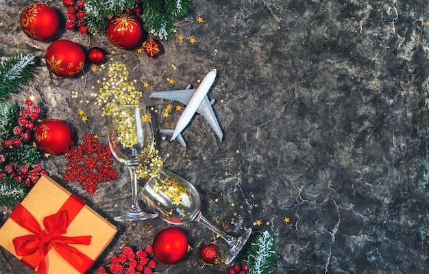 美しいクリスマスの背景