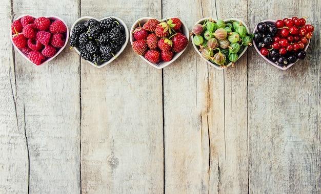 庭の果実。